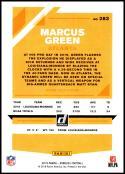 2019 Donruss Press Proof Blue #283 Marcus Green NM-MT Atlanta Falcons