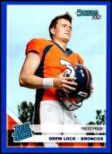 2019 Donruss Press Proof Blue #303 Drew Lock NM-MT Denver Broncos