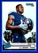 2019 Donruss Press Proof Blue #314 A.J. Brown NM-MT Tennessee Titans