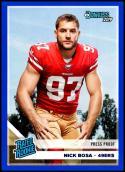 2019 Donruss Press Proof Blue #318 Nick Bosa NM-MT San Francisco 49ers