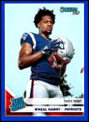 2019 Donruss Press Proof Blue #319 N'Keal Harry NM-MT New England Patriots