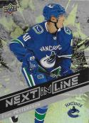 2018-19 Upper Deck Overtime Next in Line #NL-1 Elias Pettersson NM-MT Vancouver Canucks