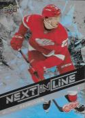 2018-19 Upper Deck Overtime Next in Line #NL-4 Michael Rasmussen NM-MT Detroit Red Wings