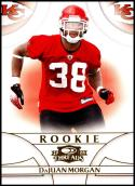 2008 Donruss Threads #171 DaJuan Morgan RC 696/999 NM-MT Kansas City Chiefs