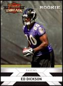 2010 Panini Threads Rookies #229 Ed Dickson RC NM-MT Baltimore Ravens