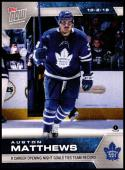 2019-20 Topps Now Stickers #2 Auston Matthews NM-MT Toronto Maple Leafs PR 1,483