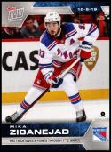 2019-20 Topps Now Stickers #8 Mike Zibanejad NM-MT New York Rangers PR 1,483