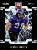 2009 Donruss Elite Rookies Blaster #226 Jason Phillips RC NM-MT Texas Christian