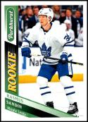 2019-20 Upper Deck Parkhurst #315 Rasmus Sandin RC NM-MT Toronto Maple Leafs