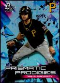 2019 Bowman Platinum Prismatic Prodigies #PPP-17 Travis Swaggerty NM-MT Pittsburgh Pirates