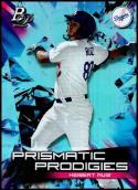 2019 Bowman Platinum Prismatic Prodigies #PPP-20 Keibert Ruiz NM-MT Los Angeles Dodgers