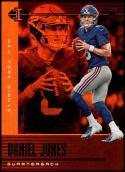 2019 Panini Illusions Trophy Collection Orange #2 Daniel Jones NM-MT New York Giants