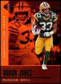 2019 Panini Illusions Trophy Collection Orange #44 Aaron Jones NM-MT Green Bay Packers