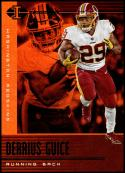 2019 Panini Illusions Trophy Collection Orange #47 Derrius Guice NM-MT Washington Redskins
