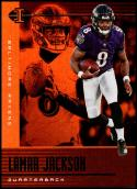 2019 Panini Illusions Trophy Collection Orange #60 Lamar Jackson NM-MT Baltimore Ravens