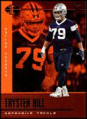 2019 Panini Illusions Trophy Collection Orange #86 Trysten Hill NM-MT Dallas Cowboys