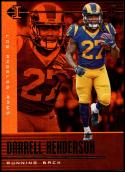 2019 Panini Illusions Trophy Collection Orange #98 Darrell Henderson NM-MT Los Angeles Rams