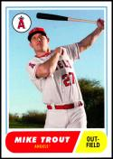 2018 Topps Throwback Thursday #3 Mike Trout NM-MT Los Angeles Angels