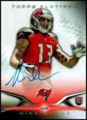 2014 Topps Platinum Autographed Rookie #52 Mike Evans NM-MT Tampa Bay Buccaneers