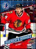 2016-17 National Hockey Card Day #USA-2 Tyler Motte NM-MT Chicago Blackhawks