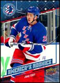 2016-17 National Hockey Card Day #USA-5 Jimmy Vesey NM-MT New York Rangers