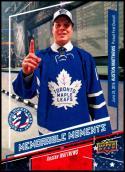 2016-17 National Hockey Card Day #USA-16 Auston Matthews NM-MT Toronto Maple Leafs