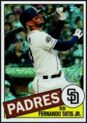 2020 Topps Silver Packs Refractors #85C-33 Fernando Tatis Jr. NM-MT San Diego Padres