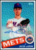 2020 Topps Silver Packs Autograph Refractors #85C-25 Jacob deGrom 25/30 NM-MT New York Mets