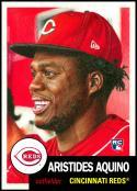 2020 Topps Living Set #283 Aristides Aquino RC NM-MT Cincinnati Reds