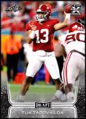 2020 Leaf Draft #2 Tua Tagovailoa NM-MT Alabama Crimson Tide