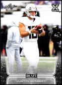 2020 Leaf Draft #3 Justin Herbert NM-MT Oregon Ducks
