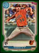 2020 Topps Gypsy Queen Green #197 Hunter Harvey RC NM-MT Baltimore Orioles