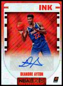 2018-19 Hoops Rookie Ink #RI-DA Deandre Ayton NM-MT Phoenix Suns