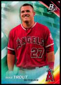 2017 Bowman Platinum SP Variations #100 Mike Trout NM-MT Los Angeles Angels