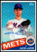 2020 Topps Silver Pack Autograph #85C-25 Jacob deGrom NM-MT 25/30 New York Mets