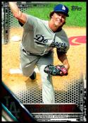 2016 Topps Black #32 Zack Greinke NM-MT 09/65 Los Angeles Dodgers