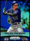 2015 Panini Prizm Blue #125 Nolan Arenado NM-MT 54/75 Colorado Rockies