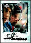 1998-99 Upper Deck Profiles #P11 Peter Forsberg NM-MT Colorado Avalanche