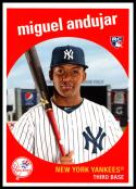 2018 Topps Throwback Thursday #161 Miguel Andujar NM-MT RC New York Yankees