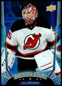 2016-17 Upper Deck Shining Stars Blue #SS-44 Cory Schneider NM-MT New Jersey Devils