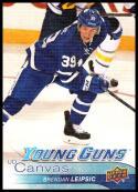 2016-17 Upper Deck UD Canvas #C99 Brendan Leipsic NM-MT Toronto Maple Leafs
