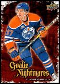 2016-17 Upper Deck Goalie Nightmares #GN-12 Connor McDavid NM-MT Edmonton Oilers