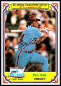 1984 Topps Drake's Big Hitters #27 Pete Rose NM-MT Philadelphia Phillies