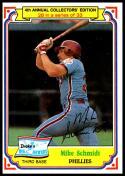 1984 Topps Drake's Big Hitters #28 Mike Schmidt NM-MT Philadelphia Phillies