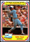 1984 Topps Drake's Big Hitters #33 Robin Yount NM-MT Milwaukee Brewers