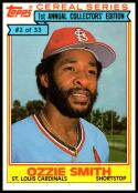 1984 Topps Cereal #2 Ozzie Smith NM-MT St. Louis Cardinals