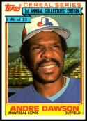 1984 Topps Cereal #6 Andre Dawson NM-MT Montreal Expos