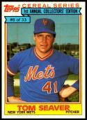 1984 Topps Cereal #8 Tom Seaver NM-MT New York Mets